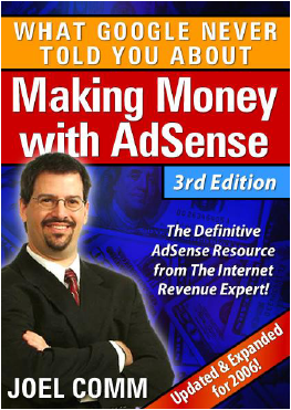 Making Money With AdSense 3rd edition by Joel Comm