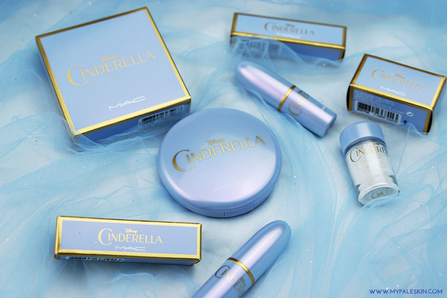 Mac Cinderella, Cinderella collection, uk, release date, mac, lipstick, glitter, powder, glitter, pale skin, my pale skin, limited edition, review, first impressions, swatches, Mac iridescent powder, powder, my pale skin, em ford