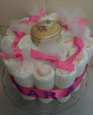 Centepiece Diaper Cakes