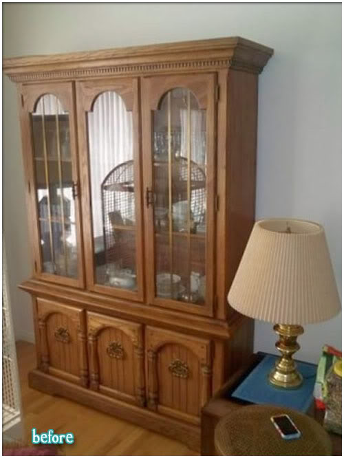 An open window dining room hutch ideas for Dining room hutch ideas