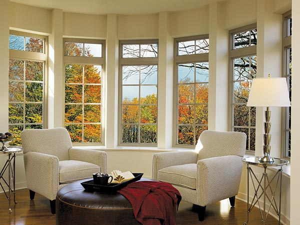 Living room window treatments ideas dream house experience for Ideas for bay windows in a living room