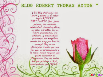 BLOG  ROBERT  THOMAS  ACTOR