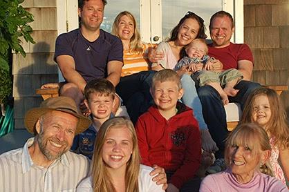 The Hansen grandchildren. (Credit: www.columbia.edu) Click to enlarge.