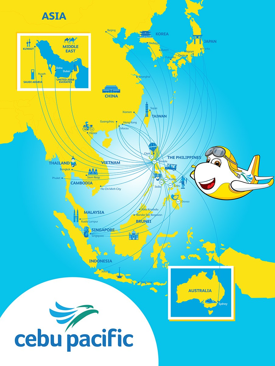 Cebu Pacific S Current Status And Route Network Expansion