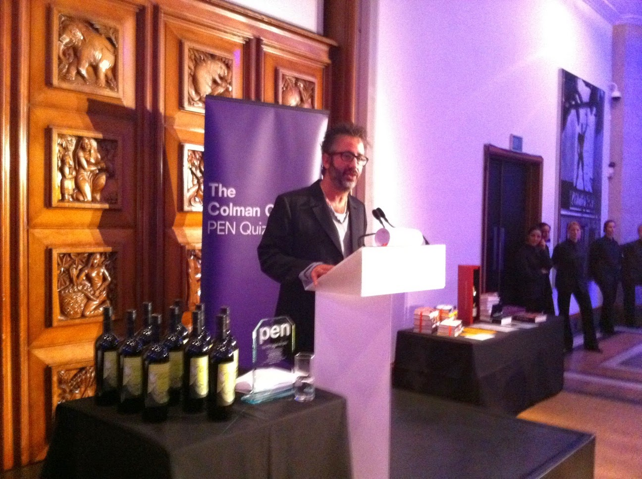 English Pen Quiz 2010 at RIBA with David Baddiel