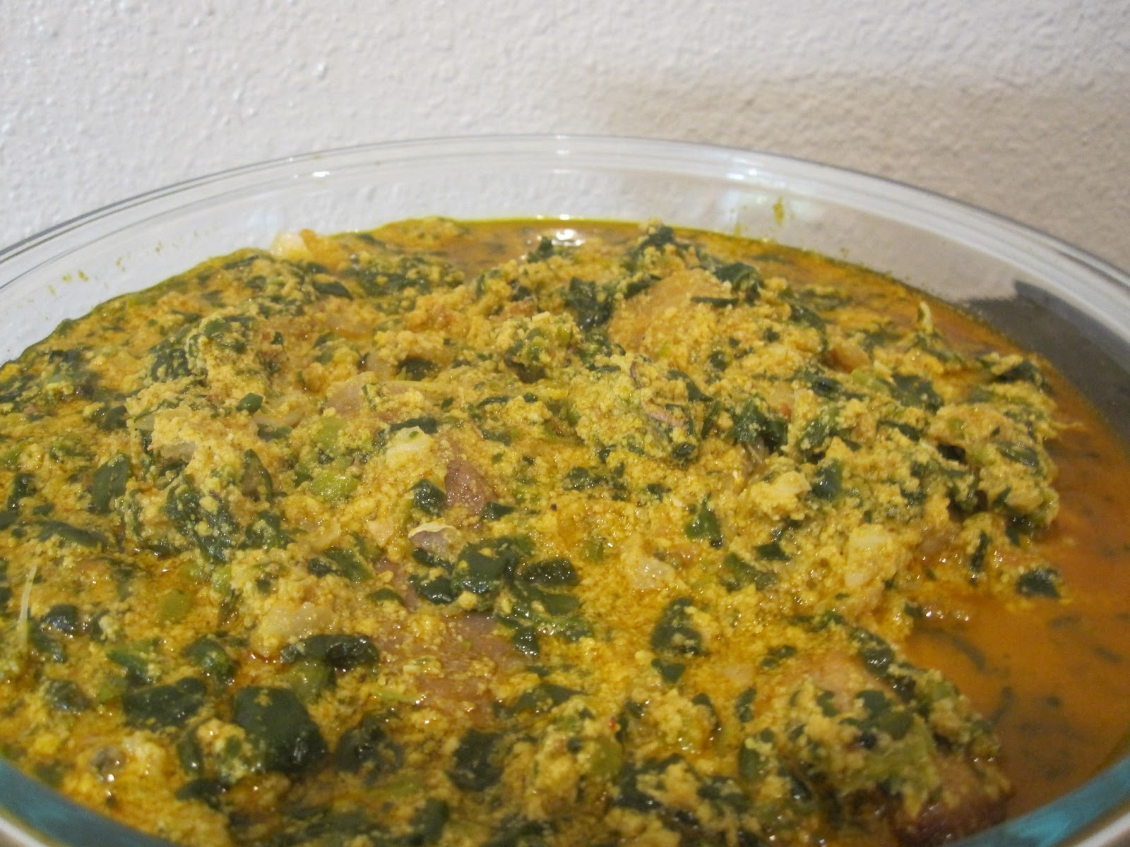 how to cook egusi soup with spinach