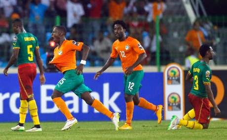 Pantai Gading Juara Grup D, Runner-up Ditentukan Lewat Undian