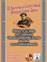 III Aniversario Centro Social Bernardo López García