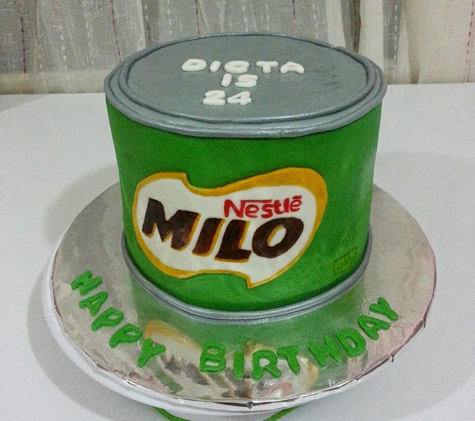 Milo Birthday Cake