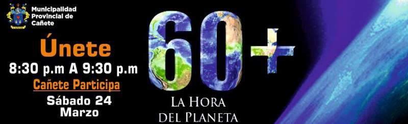 La Hora del Planeta este sábado 24