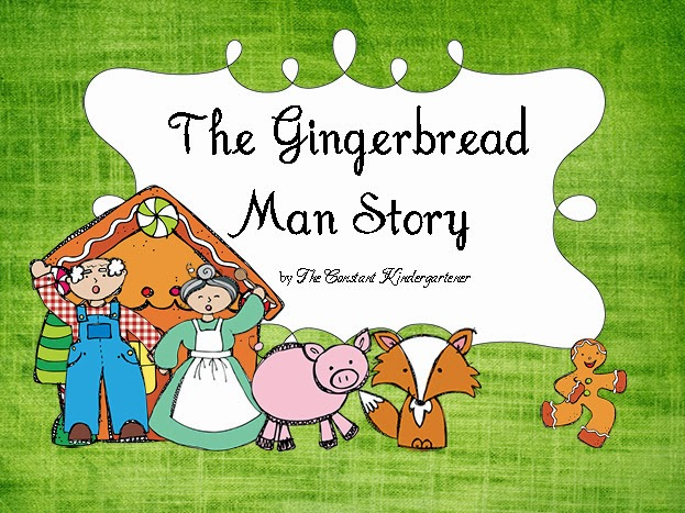 This is a graphic of Gutsy The Gingerbread Man Story Printable Free