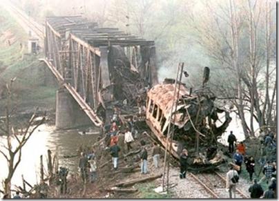 Καταστροφή σιδηροδρομικής γραμμής