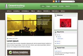 GreenHosting Blogger Template