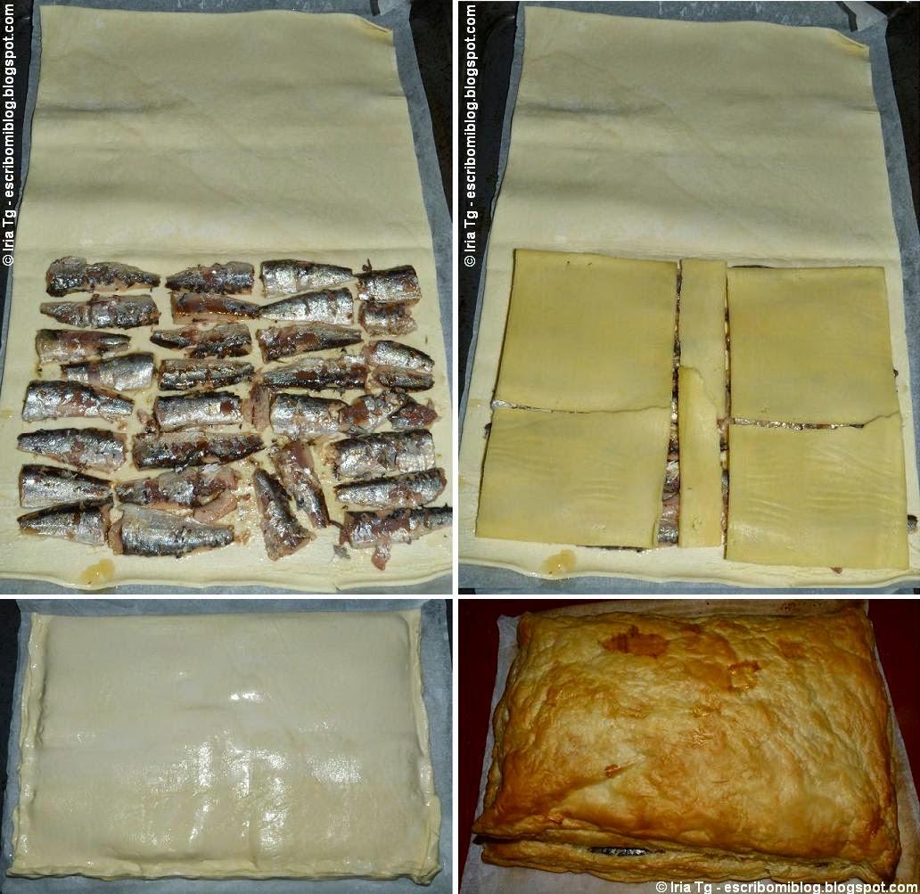 empanada de sardinillas y queso