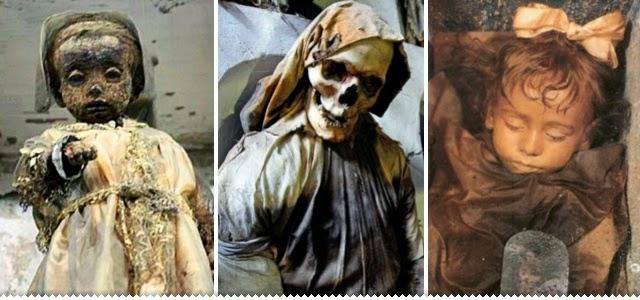Hipernovas: As tenebrosas catacumbas italianas onde os mortos são exibidos para quem quiser ver (41 Imagens)