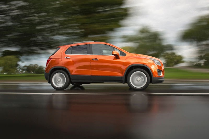 2015 Chevrolet Trax driving