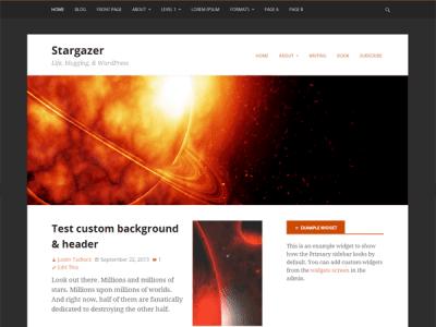 Stargazer WordPress Theme