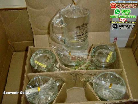 Souvenir Gelas Gelas Beling Yogyakarta