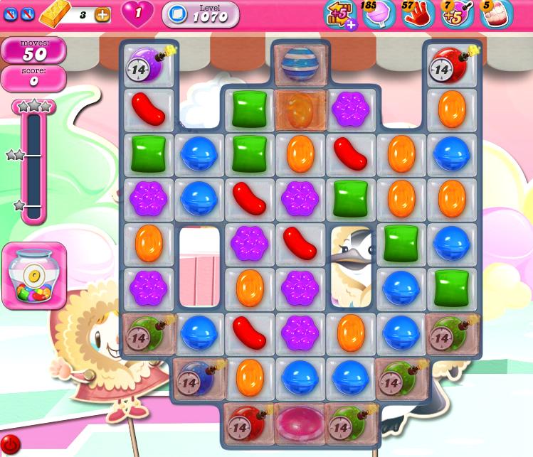 Candy Crush Saga 1070