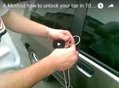 http://funchoice.org/video-collection/how-to-unlock-your-car-in-10-seconds