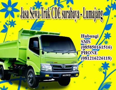 Jasa Sewa Truk CDE surabaya - Lumajang