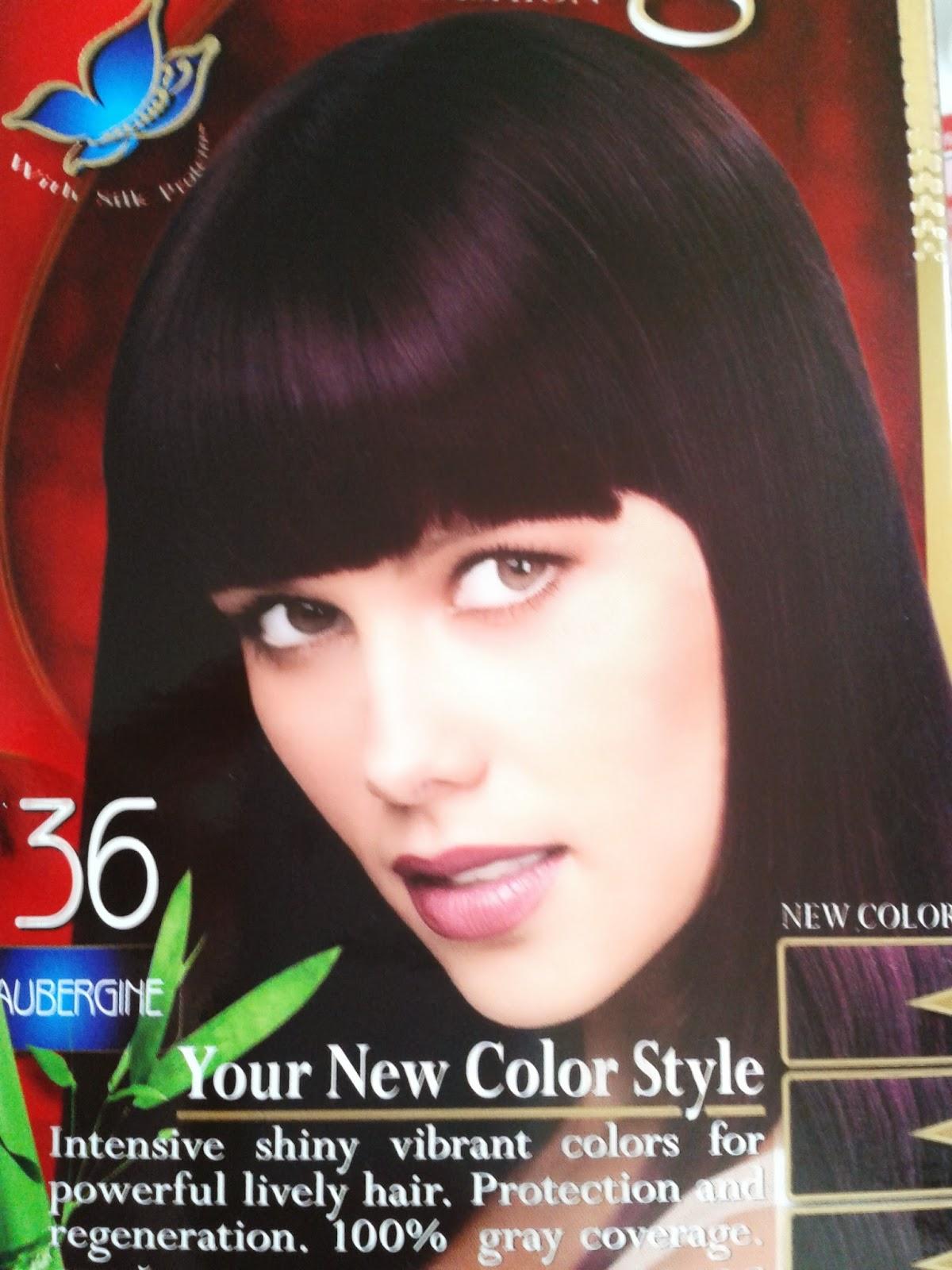 visage n 36 aubergine - Coloration Aubergine