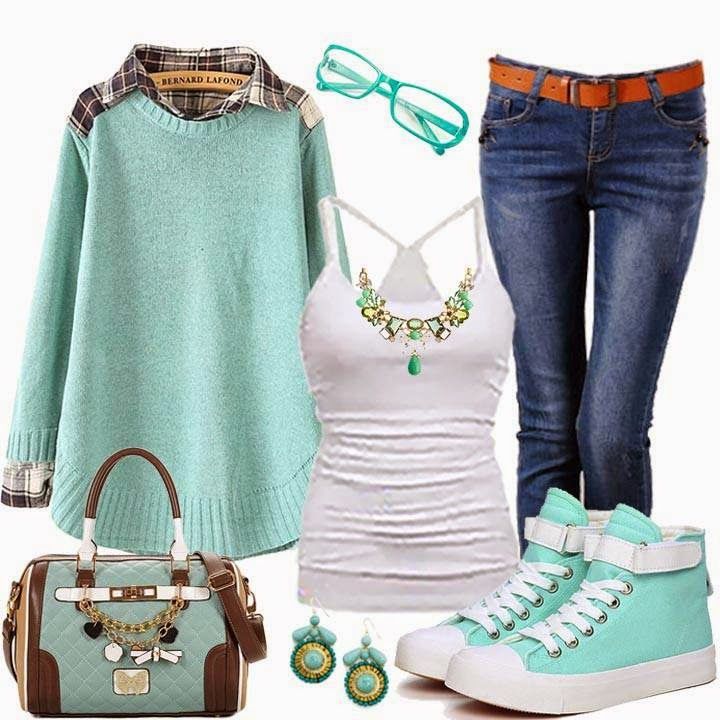 Spring And Summer Outfits Designs #8.