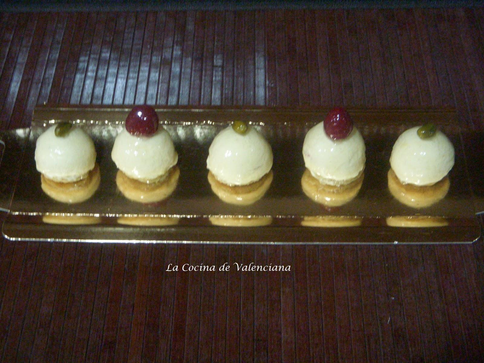 La cocina de valenciana tarta de vainilla frambuesa y for Cocina valenciana