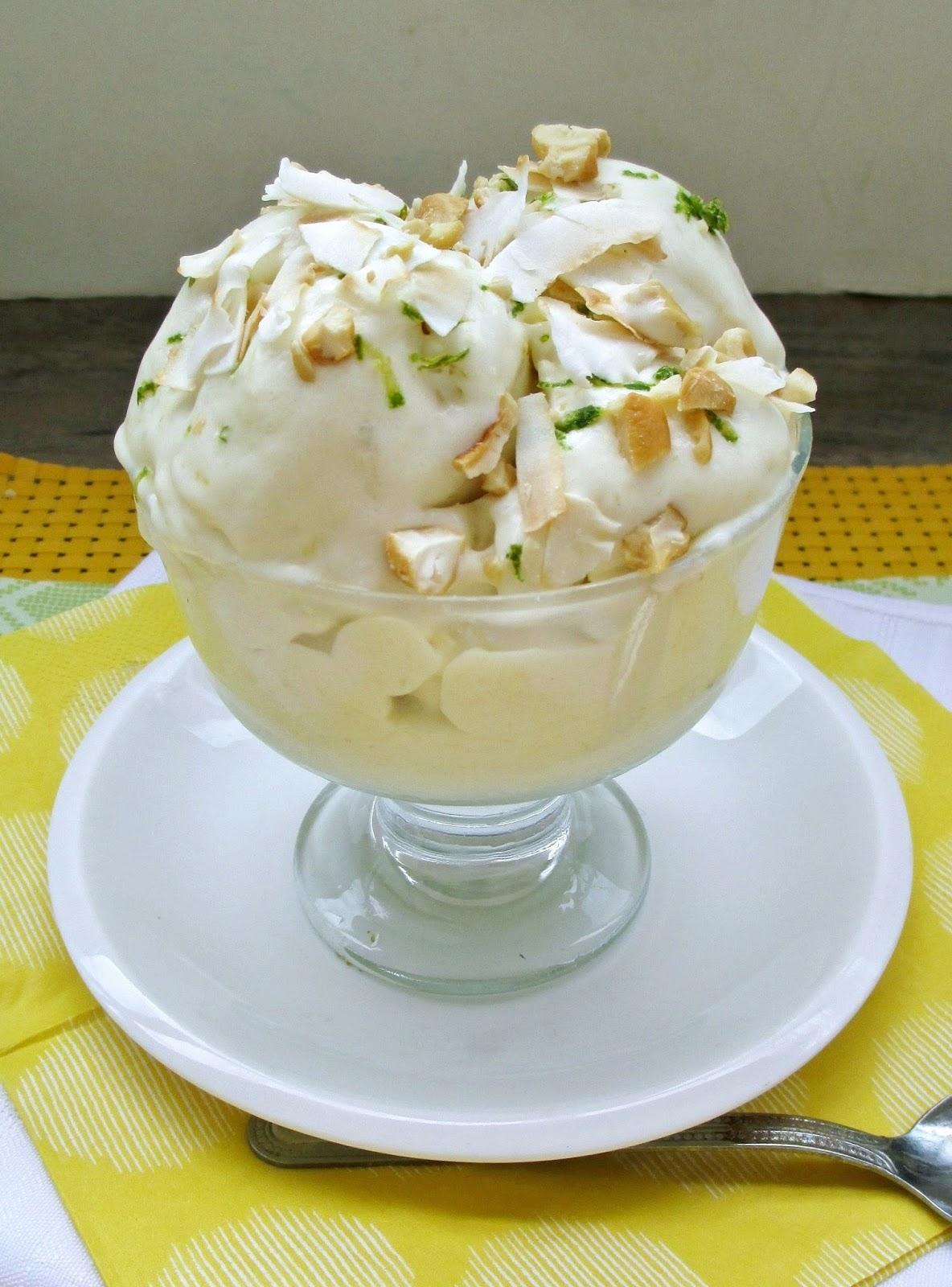 Vanilla & Spice: Vegan Tropical Mango Ice Cream