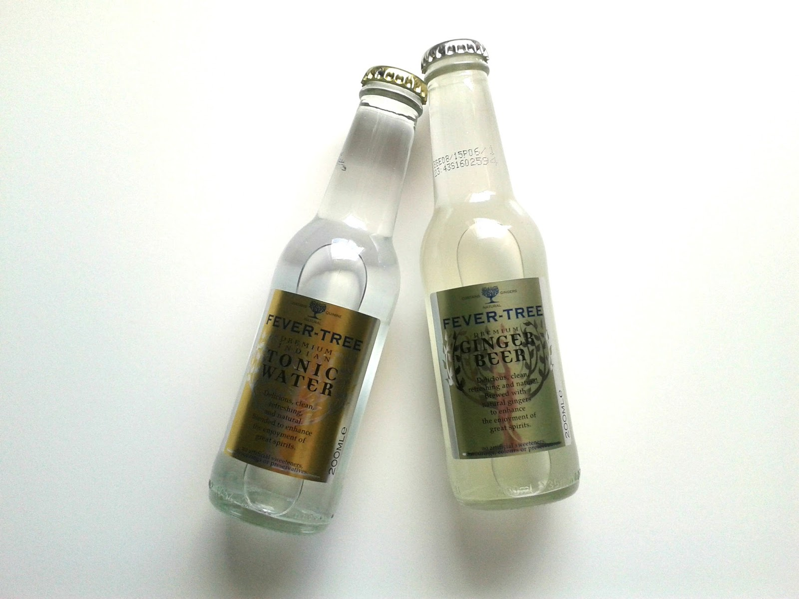 Fever Tree Tonic Water and Ginger Beer August Degustabox Review
