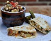 Chicken Veggie Quesadillas