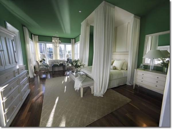 Romantic Master Bedroom Interior