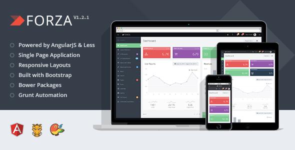 free Admin App with AngularJS