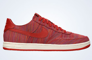 Nike Air Force 1 07 Low Team Red White Patent Leather