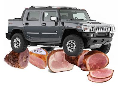 hams under the hummer