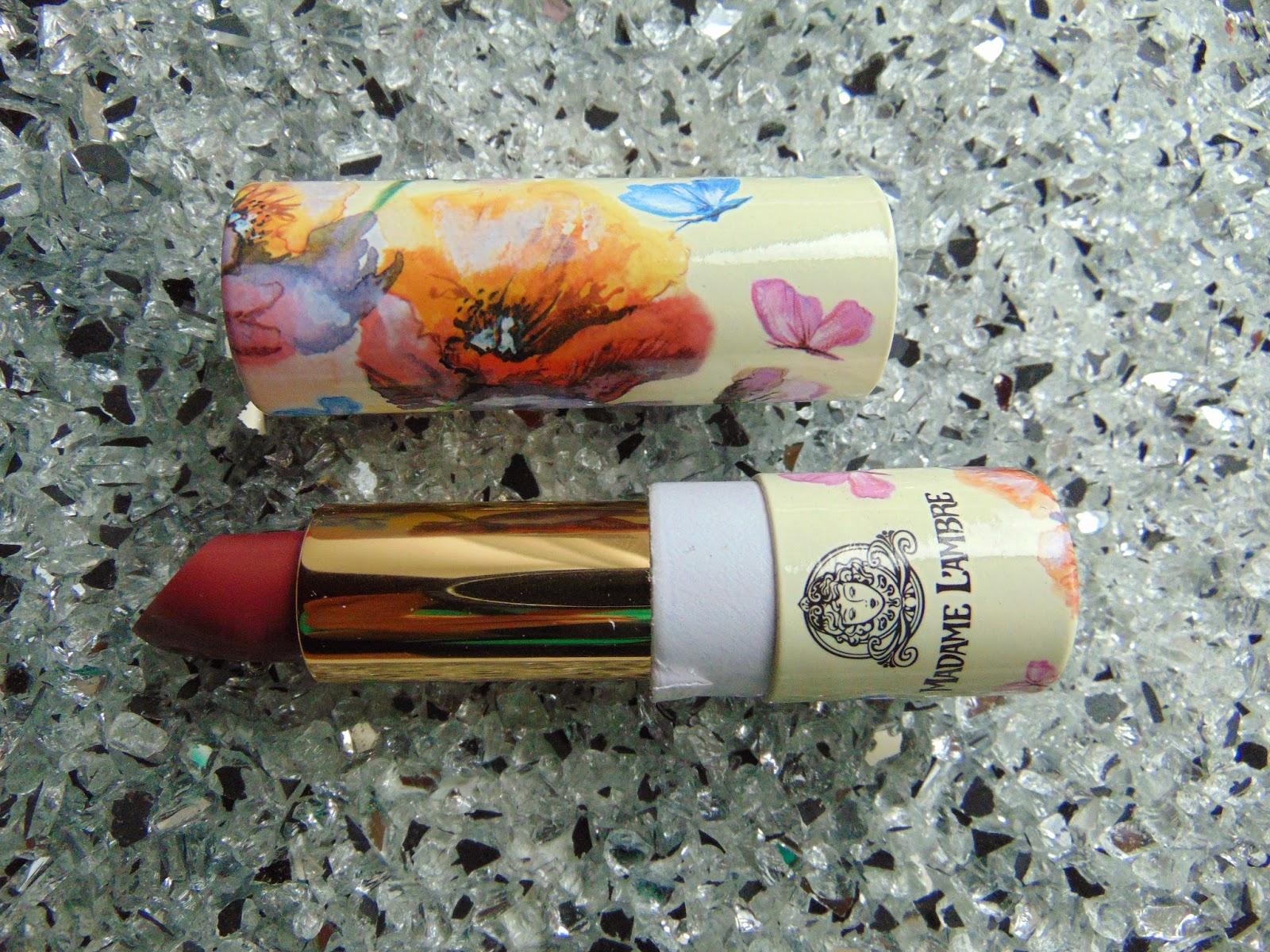 L'ambre Lipstick Madame Lambre - www.annitschkasblog.de