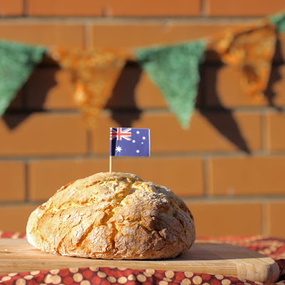 Green Gourmet Giraffe: Damper: traditional Australian campfire bread