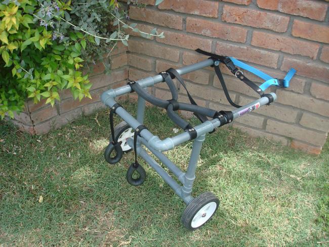 Que4patas como hacer una silla de ruedas para perros for Carritos para perros