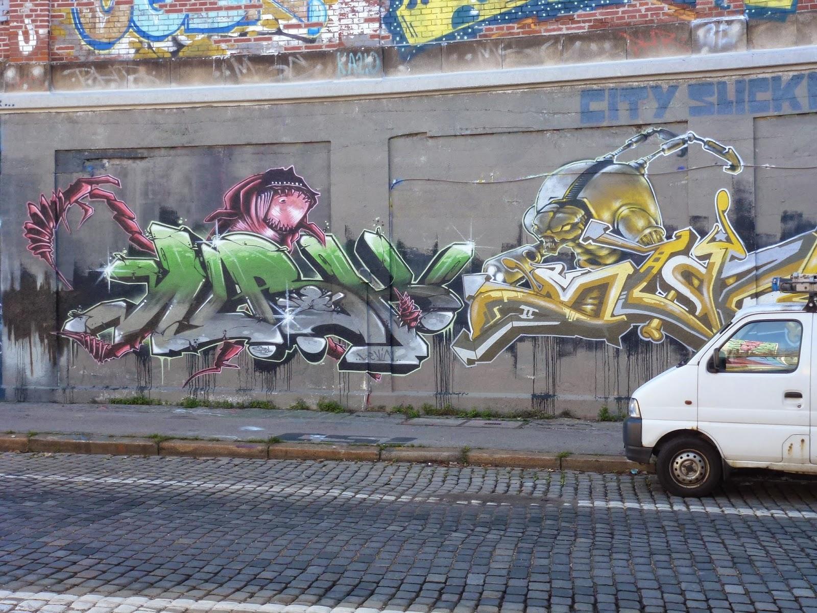 streetart und urbane kommunikation in m nchen city slickaz tumblingerstra e. Black Bedroom Furniture Sets. Home Design Ideas