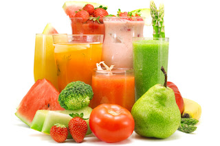 Healthy diet with Juice Drink