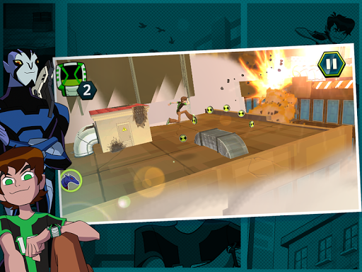 Undertown Chase - Ben 10 Apk + Obb Full Version Pro Free Download