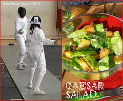 mtc di giugno: la mia personale cesar salad