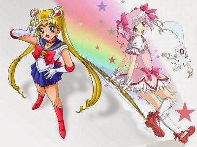 Sailor Moon e Madoka Magica