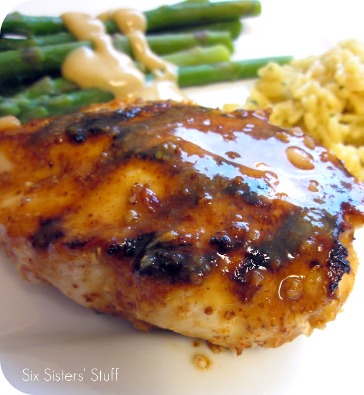 Honey Mustard Chicken Recipe — Dishmaps