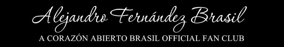ALEJANDRO FERNÁNDEZ BRASIL