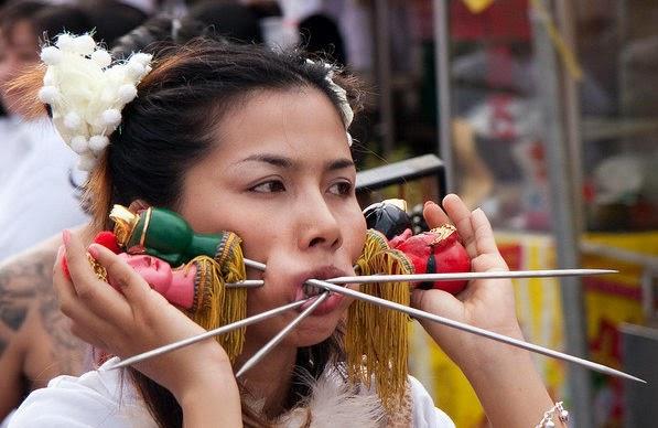 Festival Vegetarian di Phuket