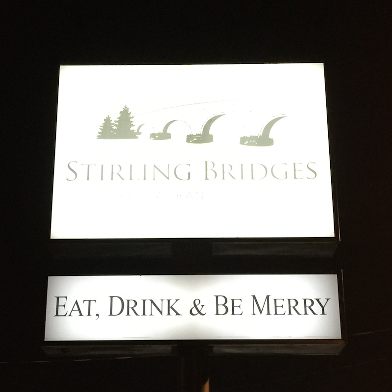 Stirling Bridges Gastropub in Carmichael (near Sacramento)