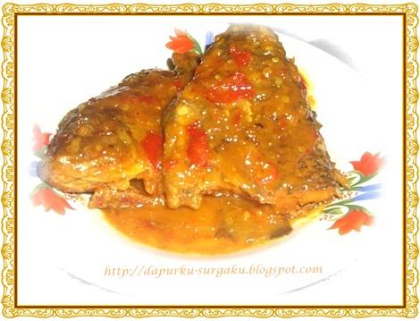 Olahan Ikan Mujair, Resep Mujair Masak Santan