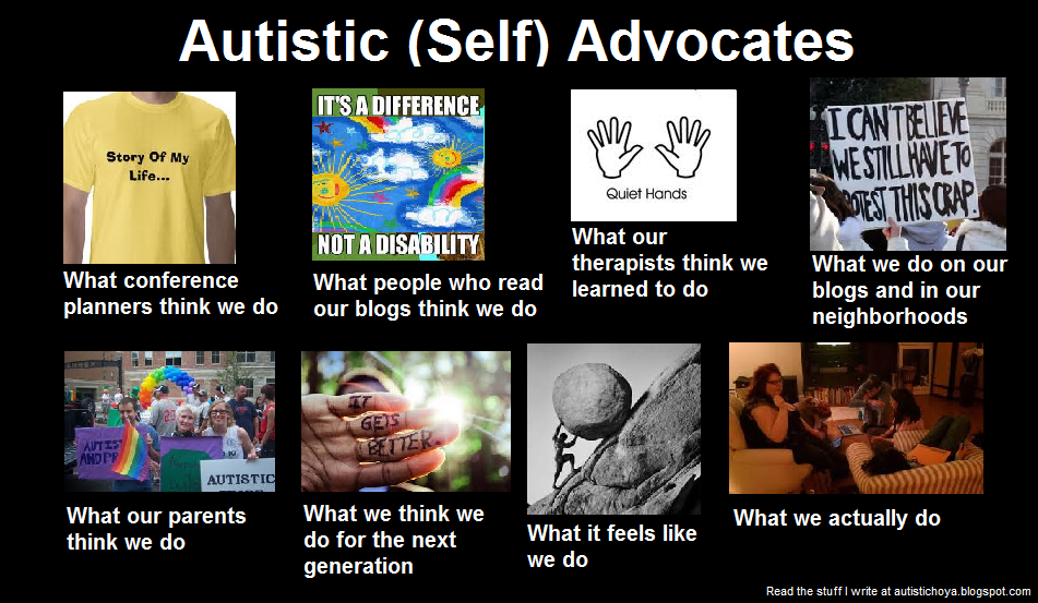 Autistic adults stories