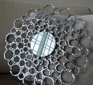 espejo+con+tubos+de+carton+reciclados+rapido+facil+reciclar+reciclado